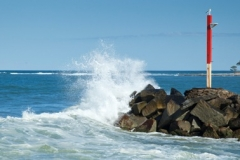 Wooli Beach Breakwall